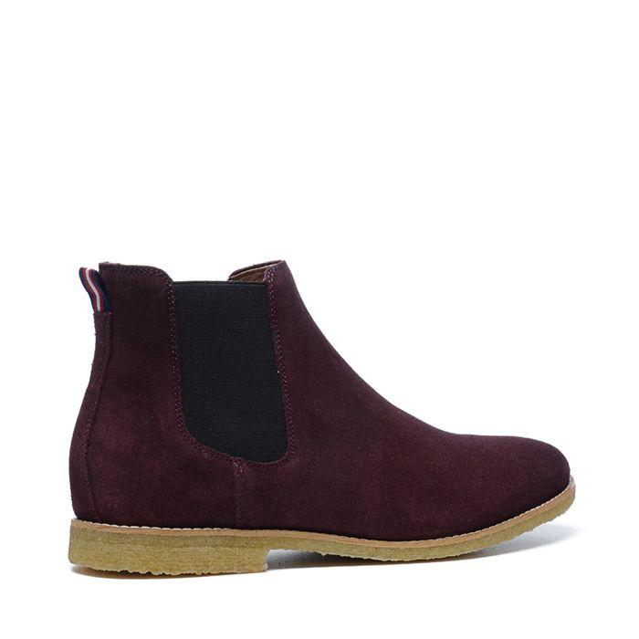 Chelsea boots - bordeaux