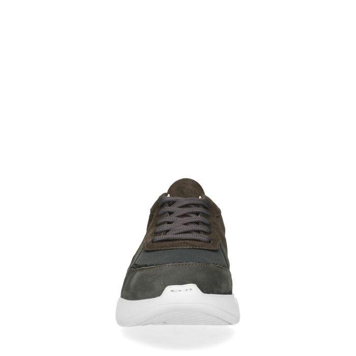 Baskets avec détail - gris foncé