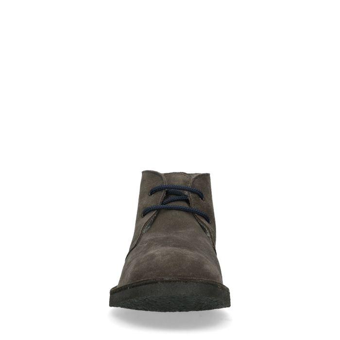 Desert boots en daim - gris foncé