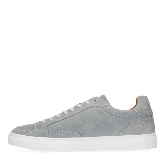 Baskets en daim - gris
