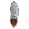 Chaussures à lacets en daim - gris
