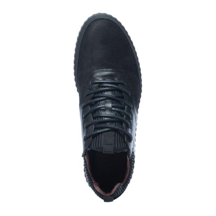 Baskets en daim montantes - noir