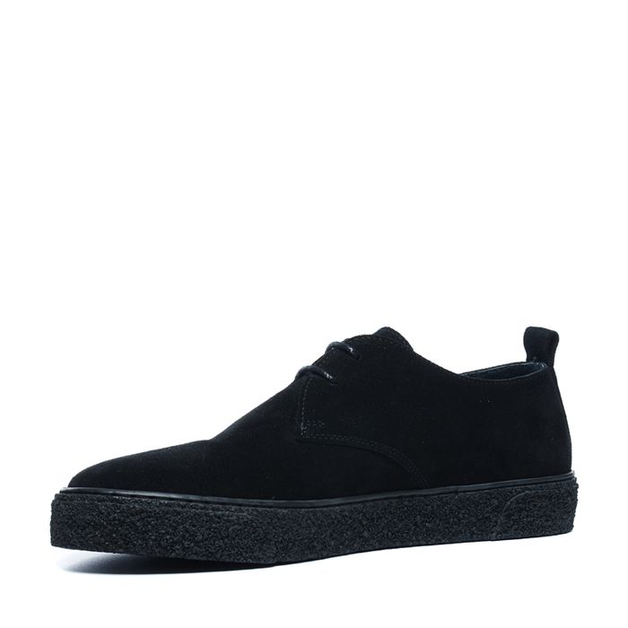 Baskets en daim basses - noir