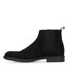 Chelsea boots en daim - noir