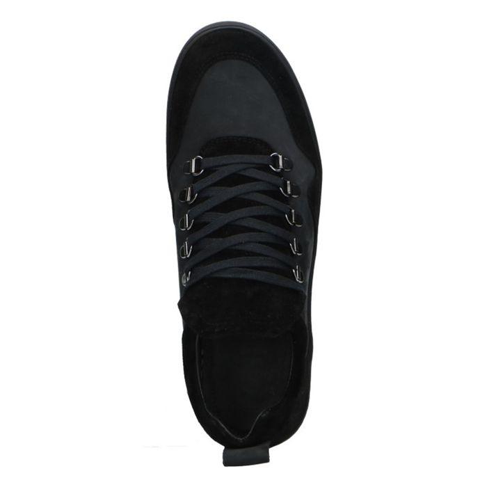 Baskets en daim - noir