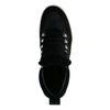 Baskets montantes en daim - noir