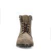 Boots à lacets en daim - taupe