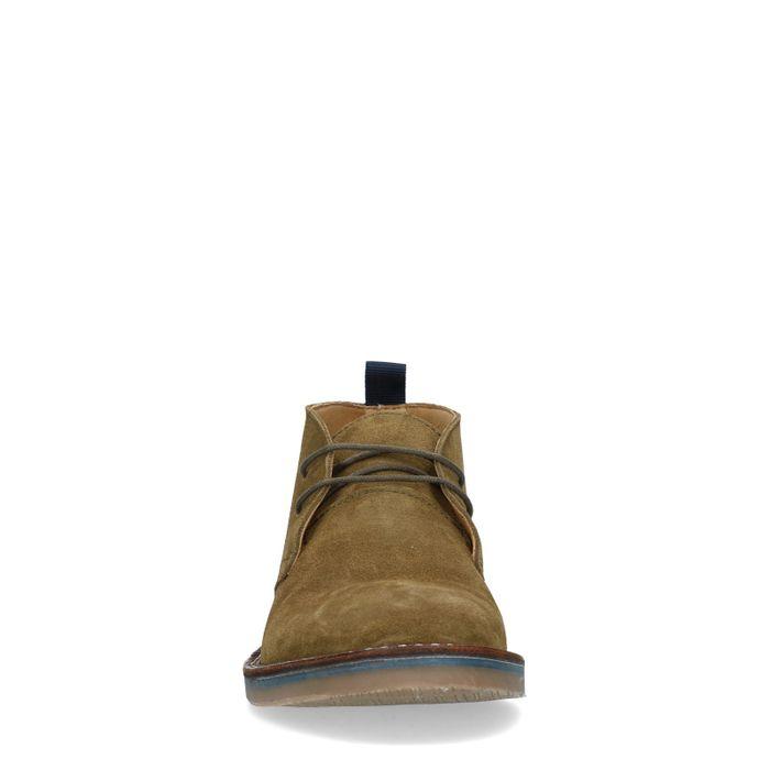 Desert boots en daim - vert foncé