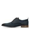 Chaussures à lacets en nubuck - bleu