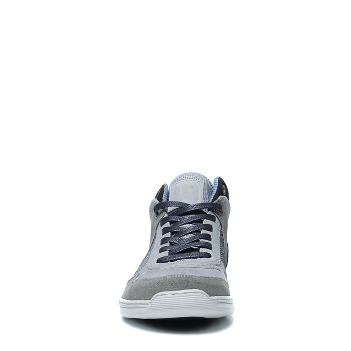 Baskets montantes - gris