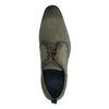 Chaussures à lacets en nubuck - vert