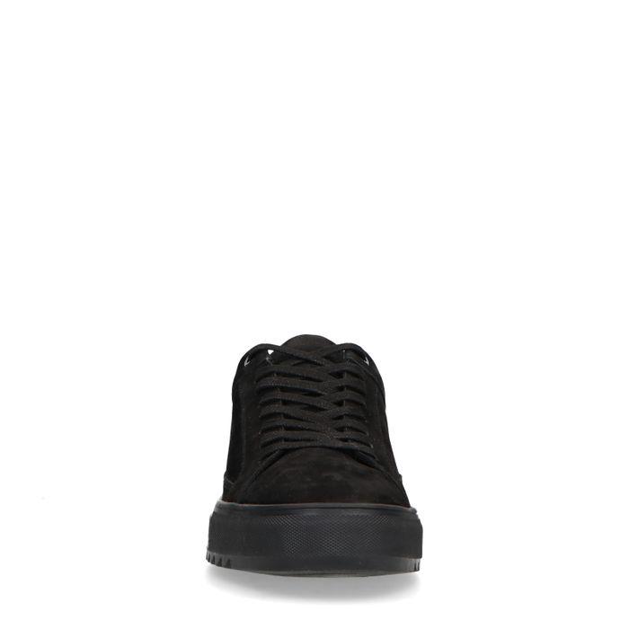 Baskets en nubuck - noir