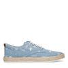 Chaussures à lacets en textile avec cactus - bleu