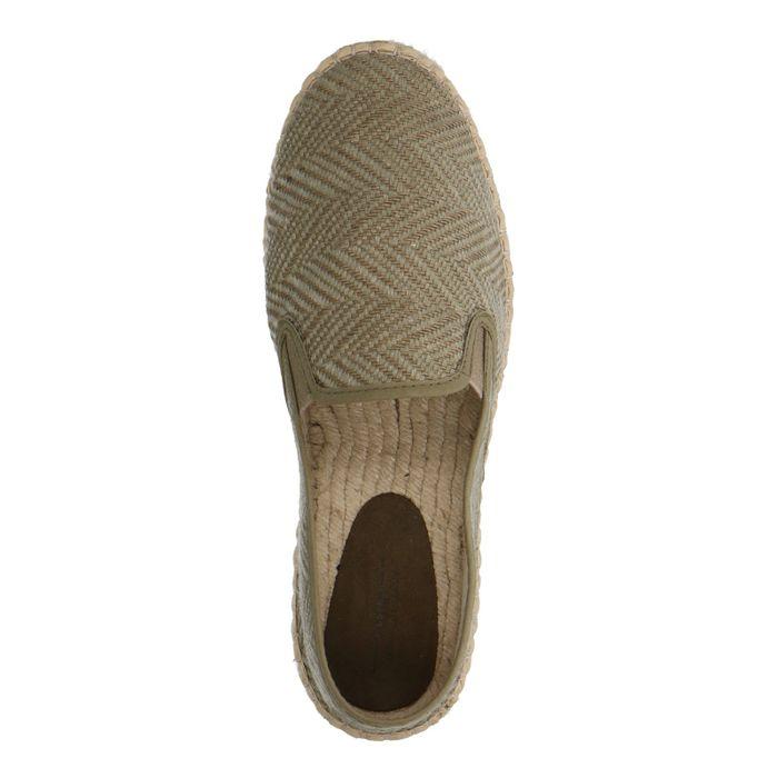 Slip-on en textile - beige