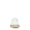 Baskets en toile avec imprimé - blanc