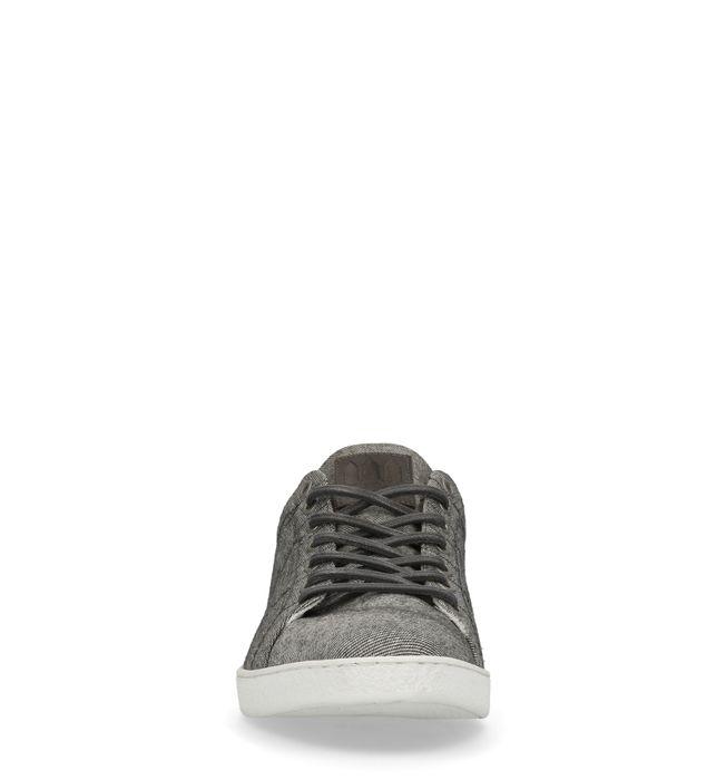 Baskets textile basses - gris