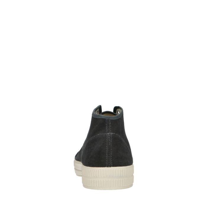 Baskets montantes en toile - gris foncé