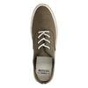 Chaussures à lacets avec semelle en corde - vert