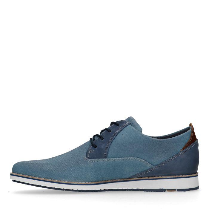 Chaussures à lacets décontractées - bleu clair