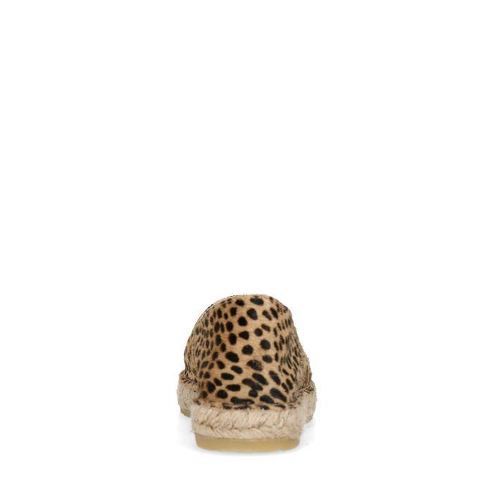 Espadrilles mit Leopardenmuster