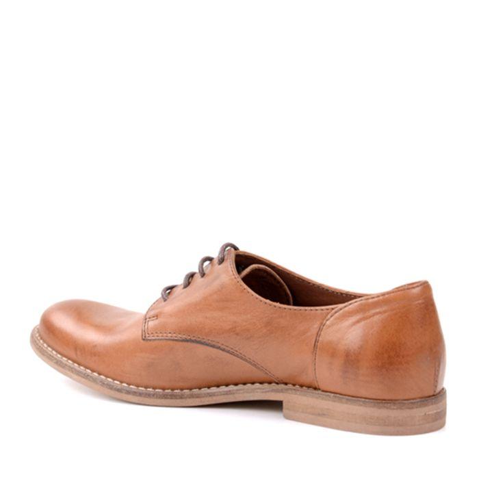 Damen-Schnürschuhe - braun