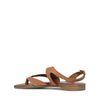 Braune Leder-Sandalen