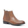 Cognacfarbene Chelsea Boots