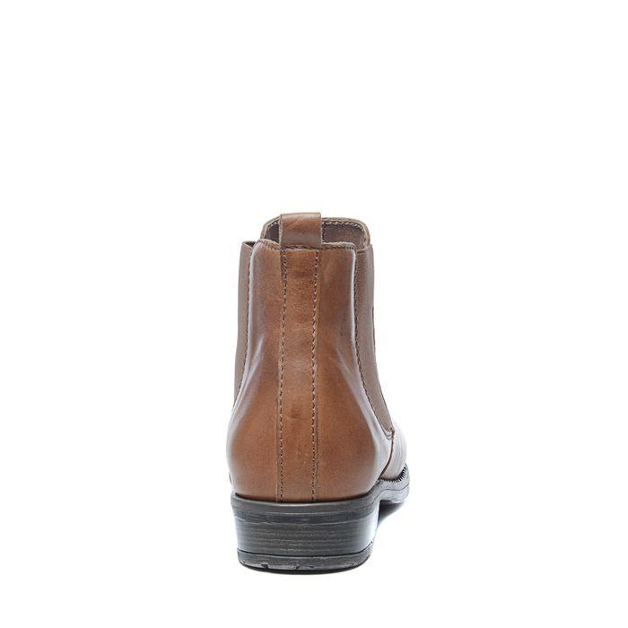 3b3ea604e4fbd3 Cognacfarbene Chelsea Boots - Damenschuhe – SACHA