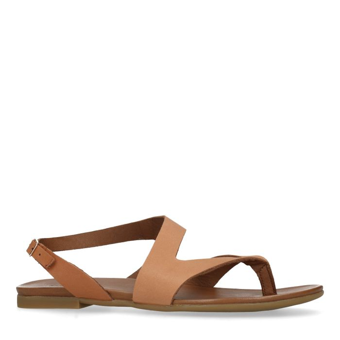 separation shoes b5f52 5c657 Ledersandalen braun - Damenschuhe – SACHA