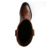 Cognacfarbene Western Boots aus Leder