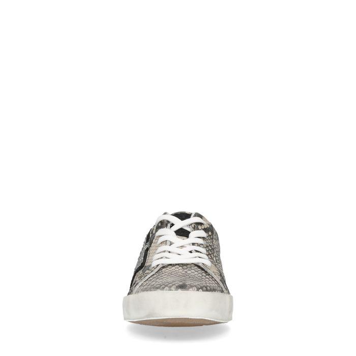 65884a7fa0a859 Sneaker mit Schlangenmuster und Stern - Damenschuhe – SACHA