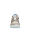 Mehrfarbige Ledersneaker