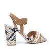 Sandaletten mit Muster