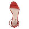 Rote Sandaletten