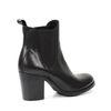 Chelsea-Boots mit Blockabsatz - schwarz