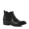 Kurze Chelsea-Boots - schwarz