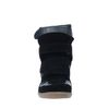 Wedges mit Klettverschluss schwarz