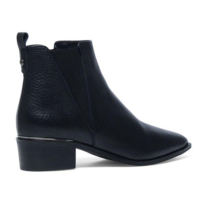 Kurze Stiefel schwarz