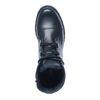 Schwarze Schnürstiefel