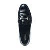 Lack-Loafer schwarz