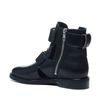 Schwarze Cut-out-Boots