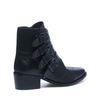 Schwarze Western Buckle Boots