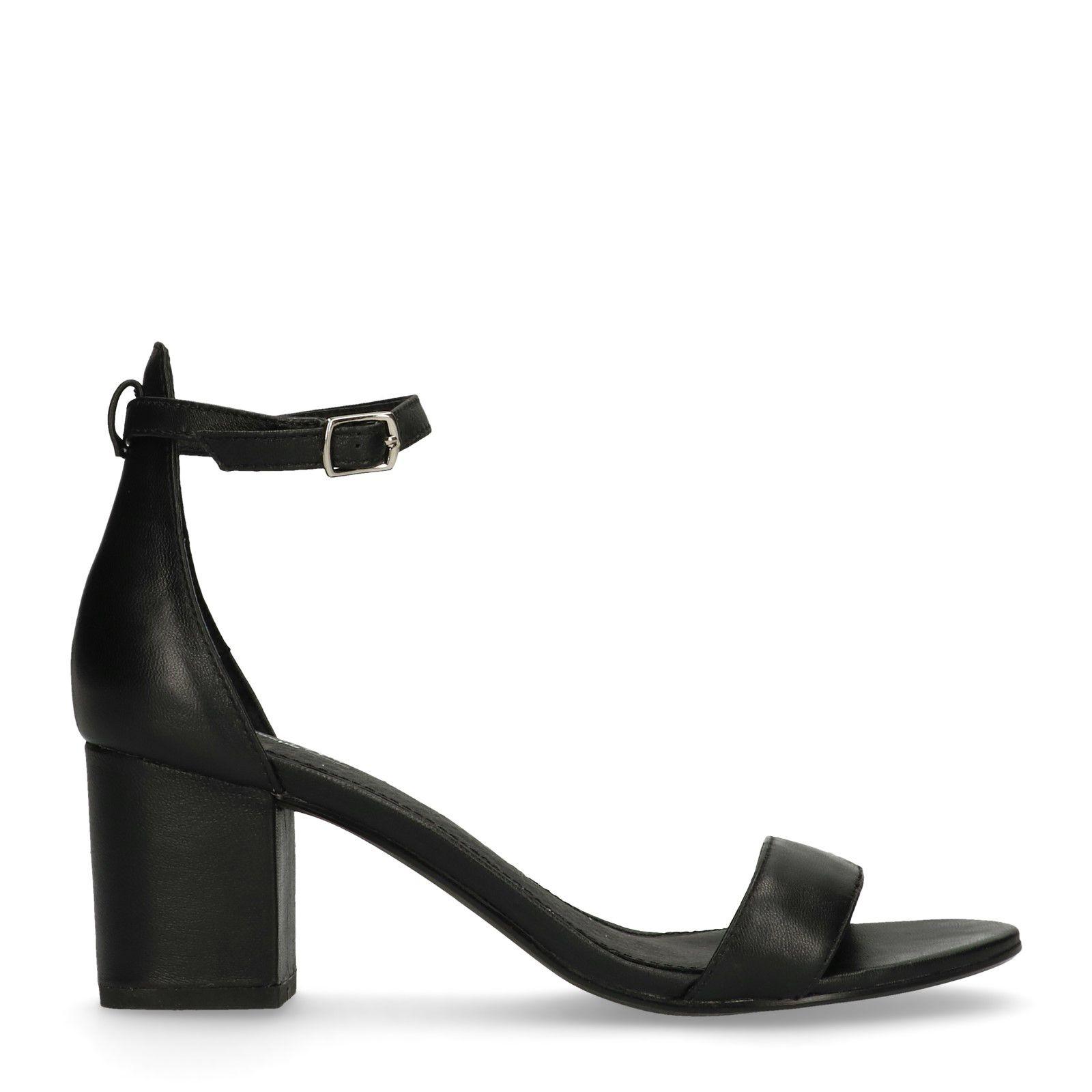 Schwarze Schwarze Damenschuhe Sacha – Sandaletten Sandaletten Damenschuhe – EHI29D