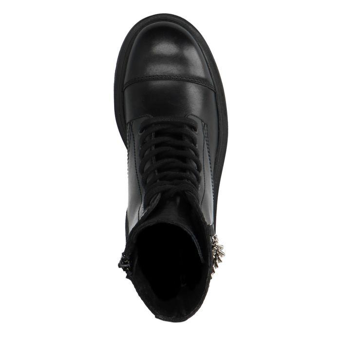 Marije Zuurveld x Sacha schwarze Biker Boots