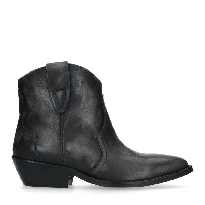 Schwarze Western Boots