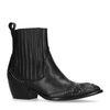 Schwarze Western Boots mit Details