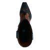 Schwarze Western Boots aus Leder