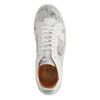 Weiße Sneaker mit Muster