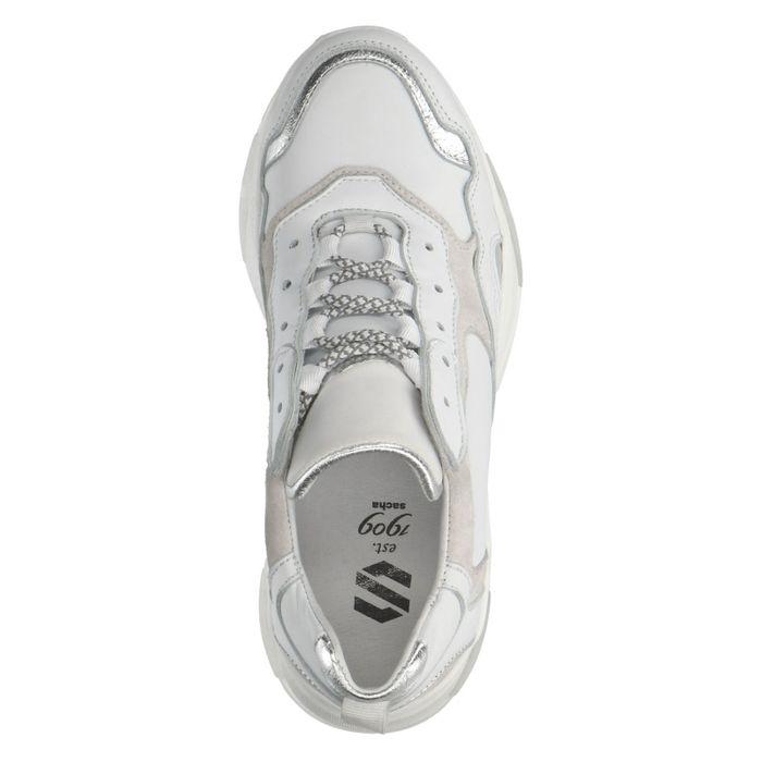 Weiße Dad-Sneaker