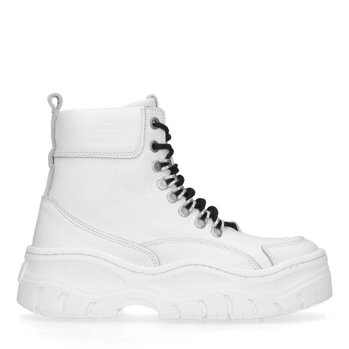 Weiße chunky Sneaker